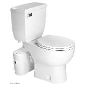 Saniflo Saniaccess 2 Macerator & Round Toilet Kit