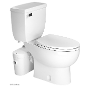 Saniflo Saniaccess 2 Macerator & Elongated Toilet Kit