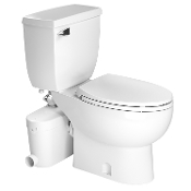 Saniflo Saniaccess 3 Macerating Pump & Elongated Toilet Kit